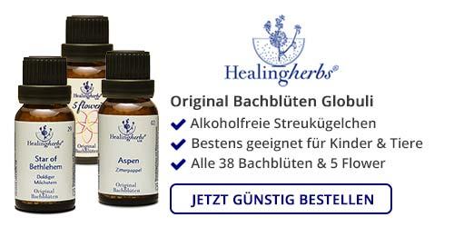 Bachblüten Globuli online bestellen