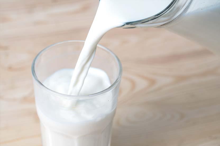 Sodbrennen Hausmittel Milch