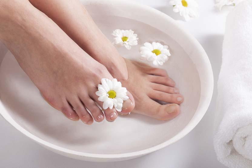 Nagelpilz Hausmittel: Fußbad